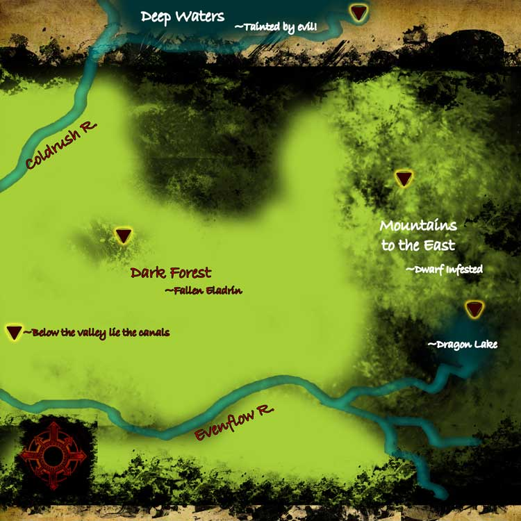 Area map obsidian