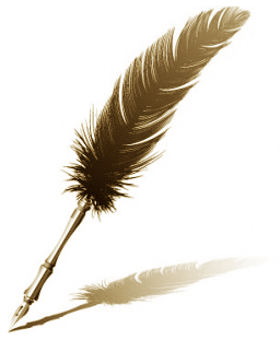 Feather pen 01