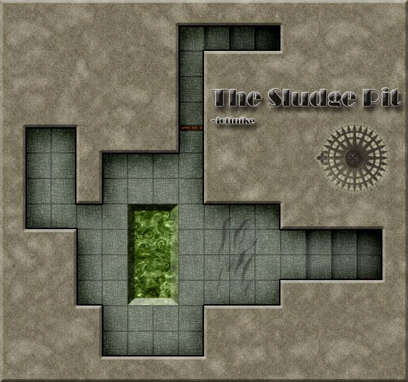 The sludge pit