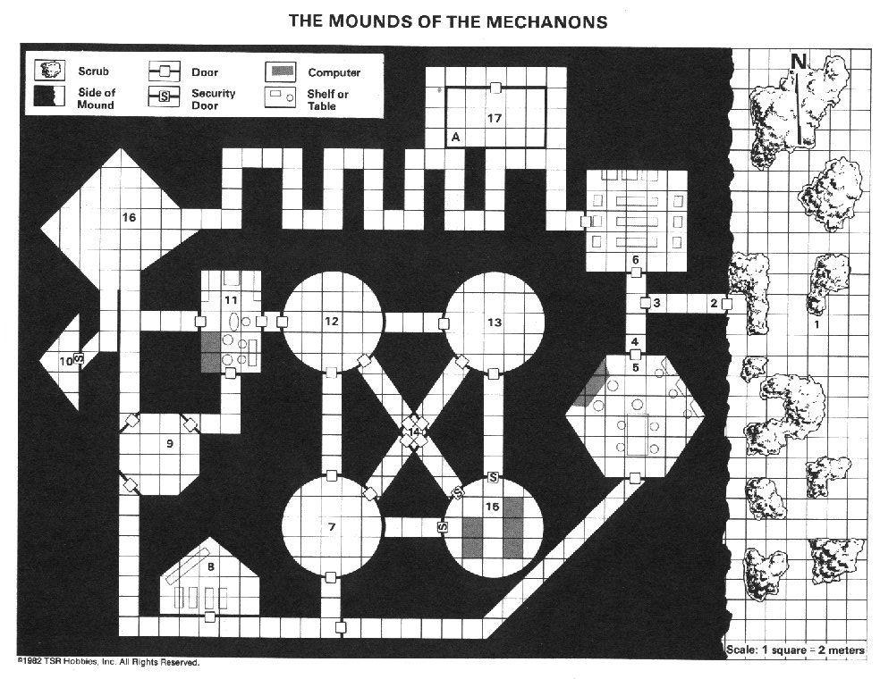 Mechanon map
