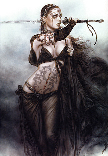 Luis royo tattoos