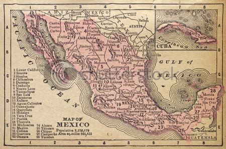 Republic of Mexico circa 1889
