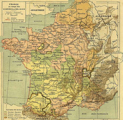 Kingdom of France circa 1889