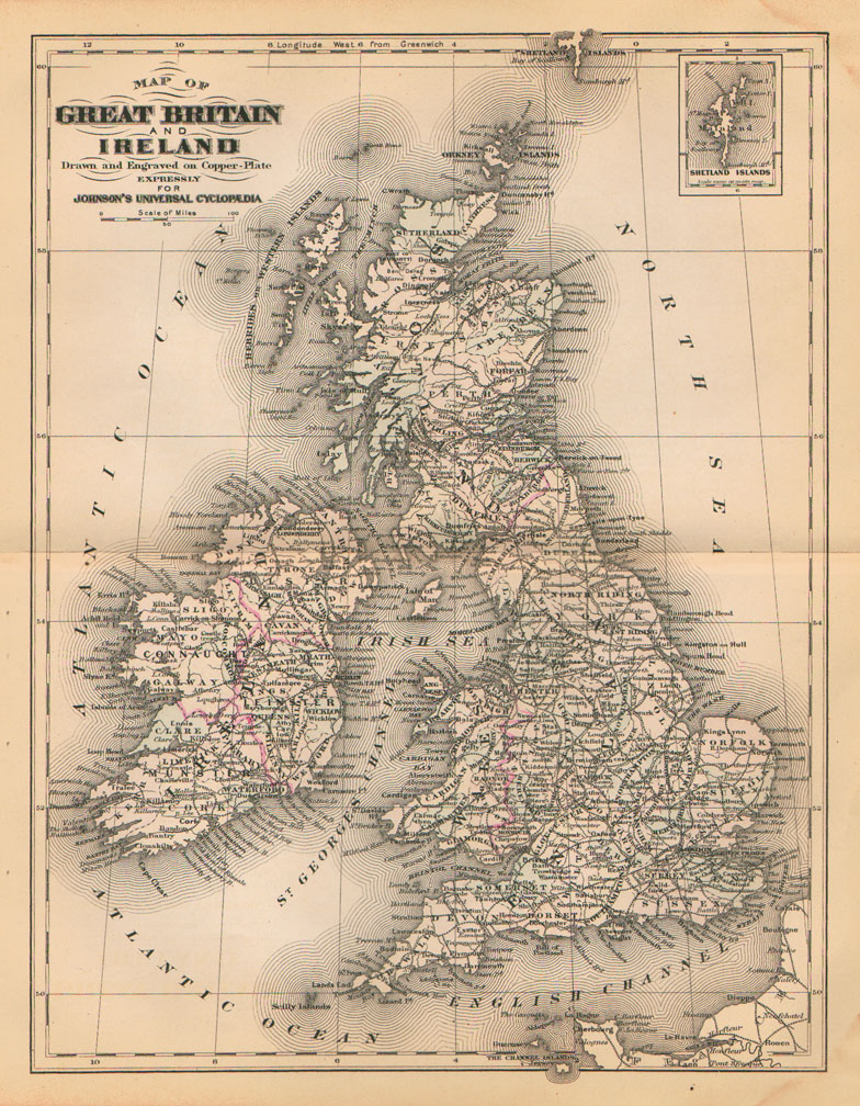 Great Britain circa 1889