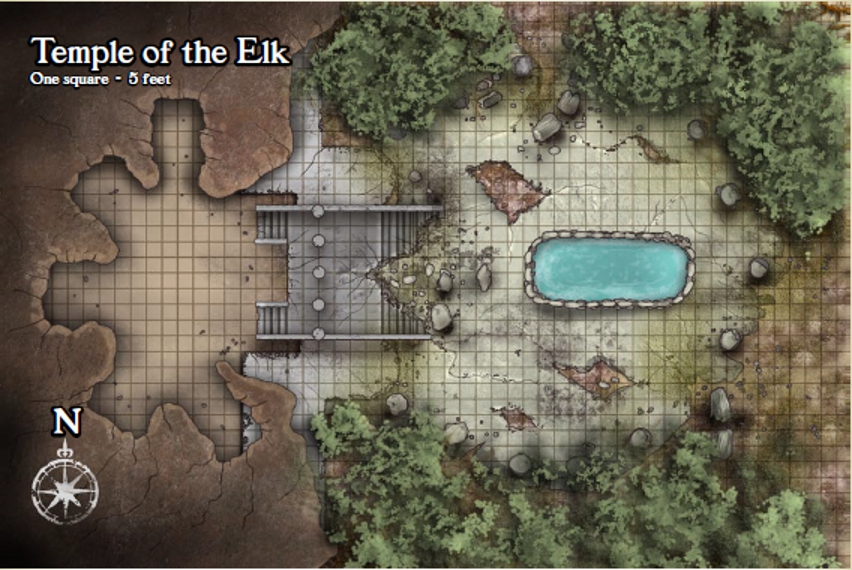 Temple of the elk
