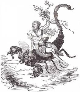 A man riding scorpio the scorpion 100425 105770 290009