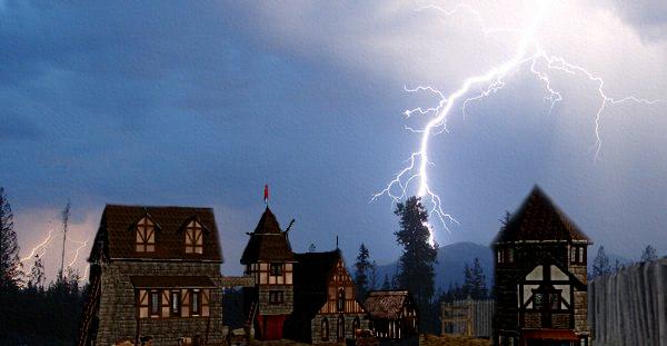 Storm in laedersburg