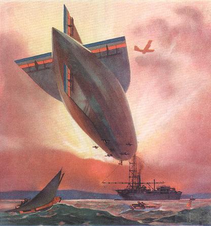 Airship trip