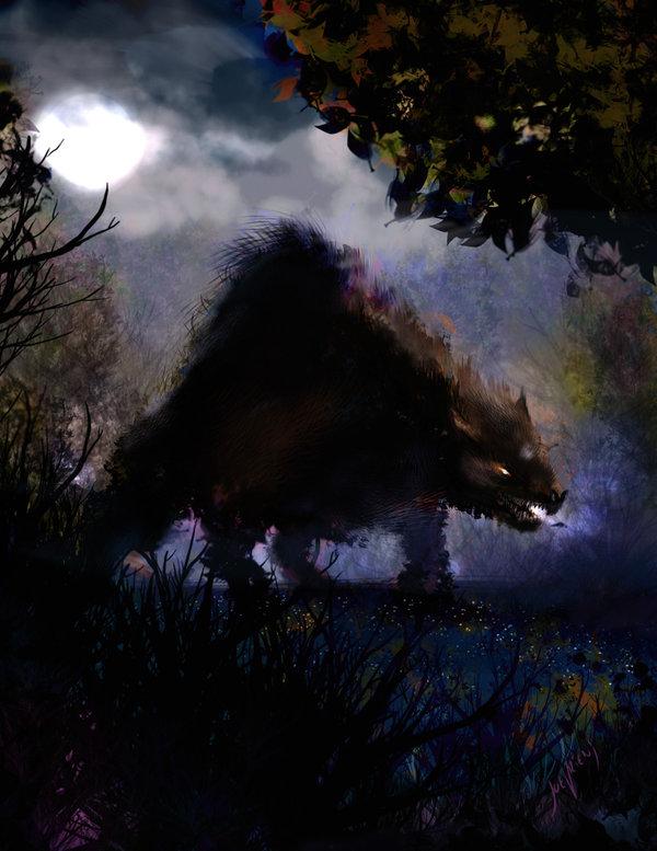 1hour monster moonbear colour by joe vriens
