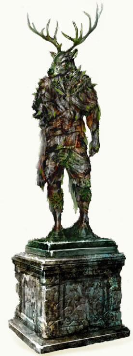 Statue erastil