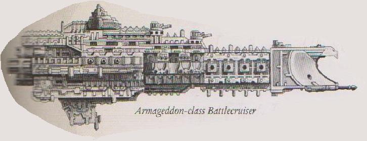 Armageddon class battlecruiser