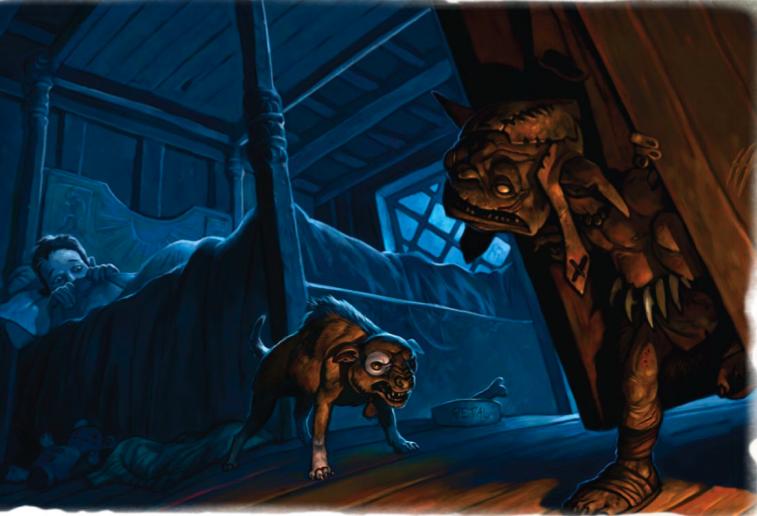 Goblin closet