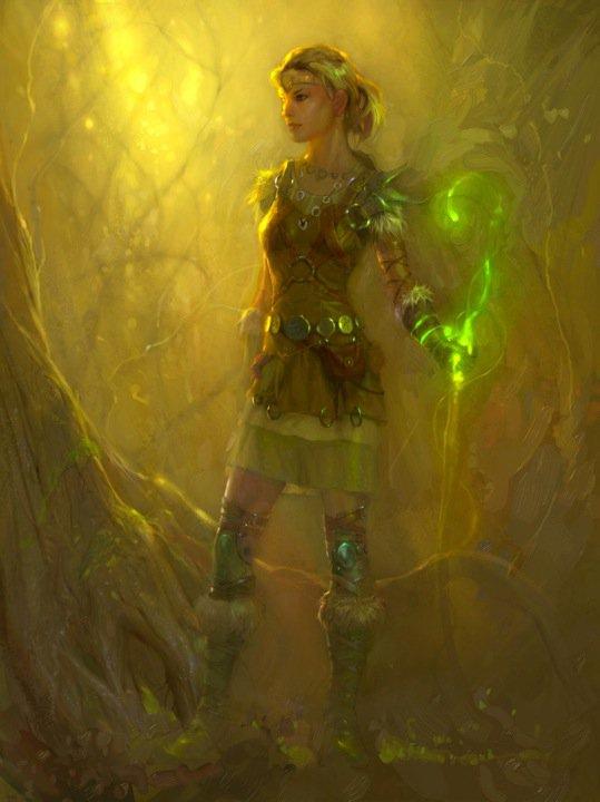 Eladrin druid