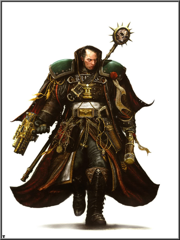 Clint langley inquisitor eisenhorn