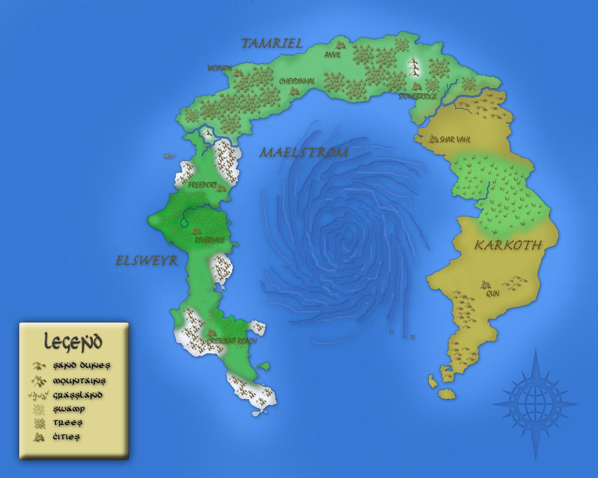 Colored horseshoemap