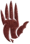 Crimson hand small