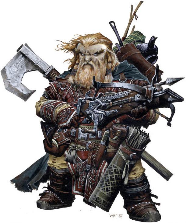 Harsk dwarf iconic