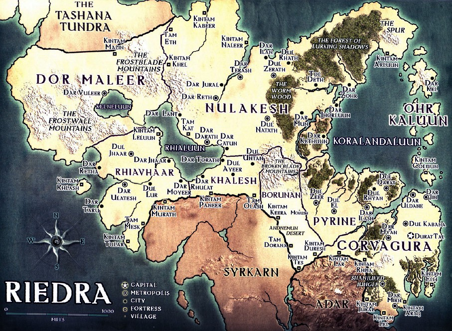 Riedra map