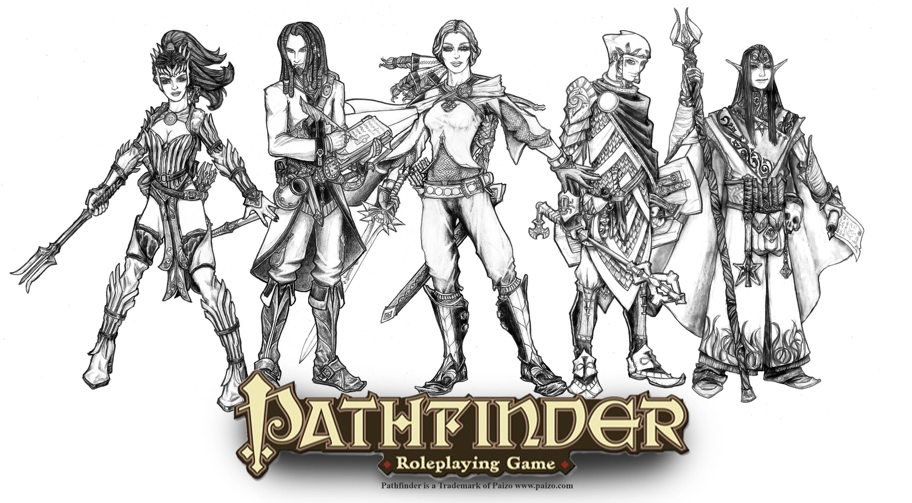 Pathfinder banner ii by butterfrog