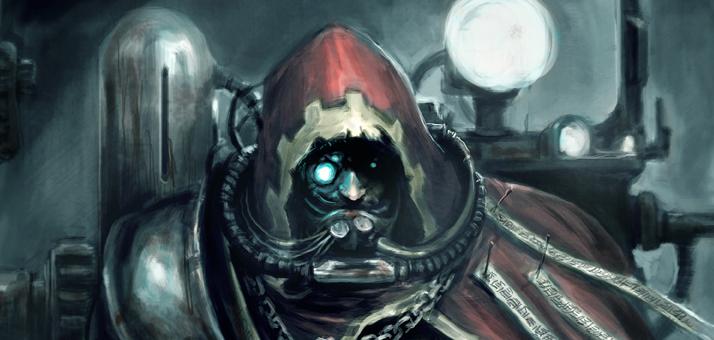Mech inquisitor portrait