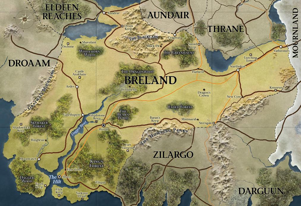 D d   4th edition   eberron map breland