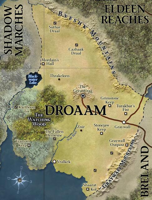 D d   4th edition   eberron map droaam