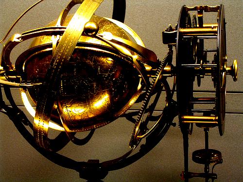 Celestial sphere gears