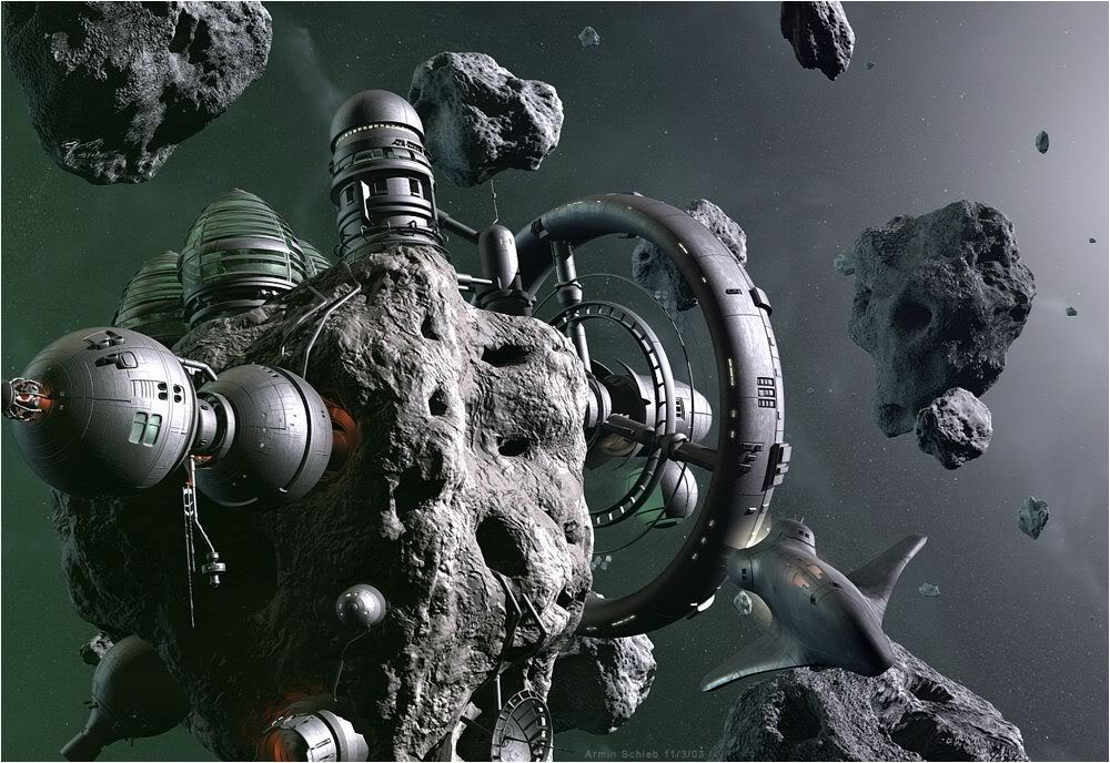 Asteroid station