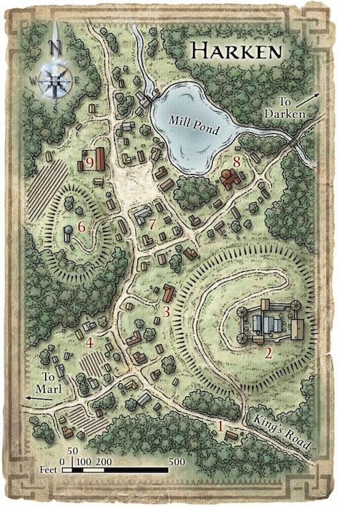 Harken Map