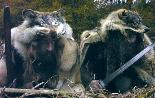 Viking wolf coats