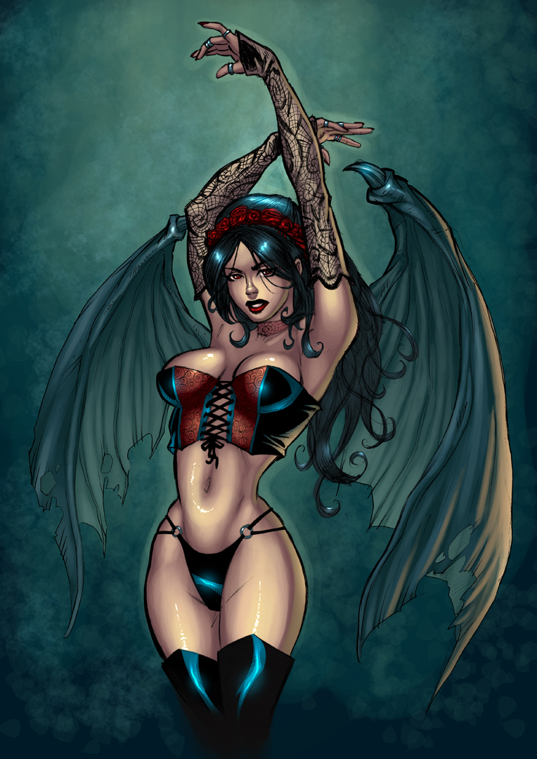 Succubus 2 Color by residentlilly Read more about: downbeat, geography, media, musical tastes, personal essay, ...
