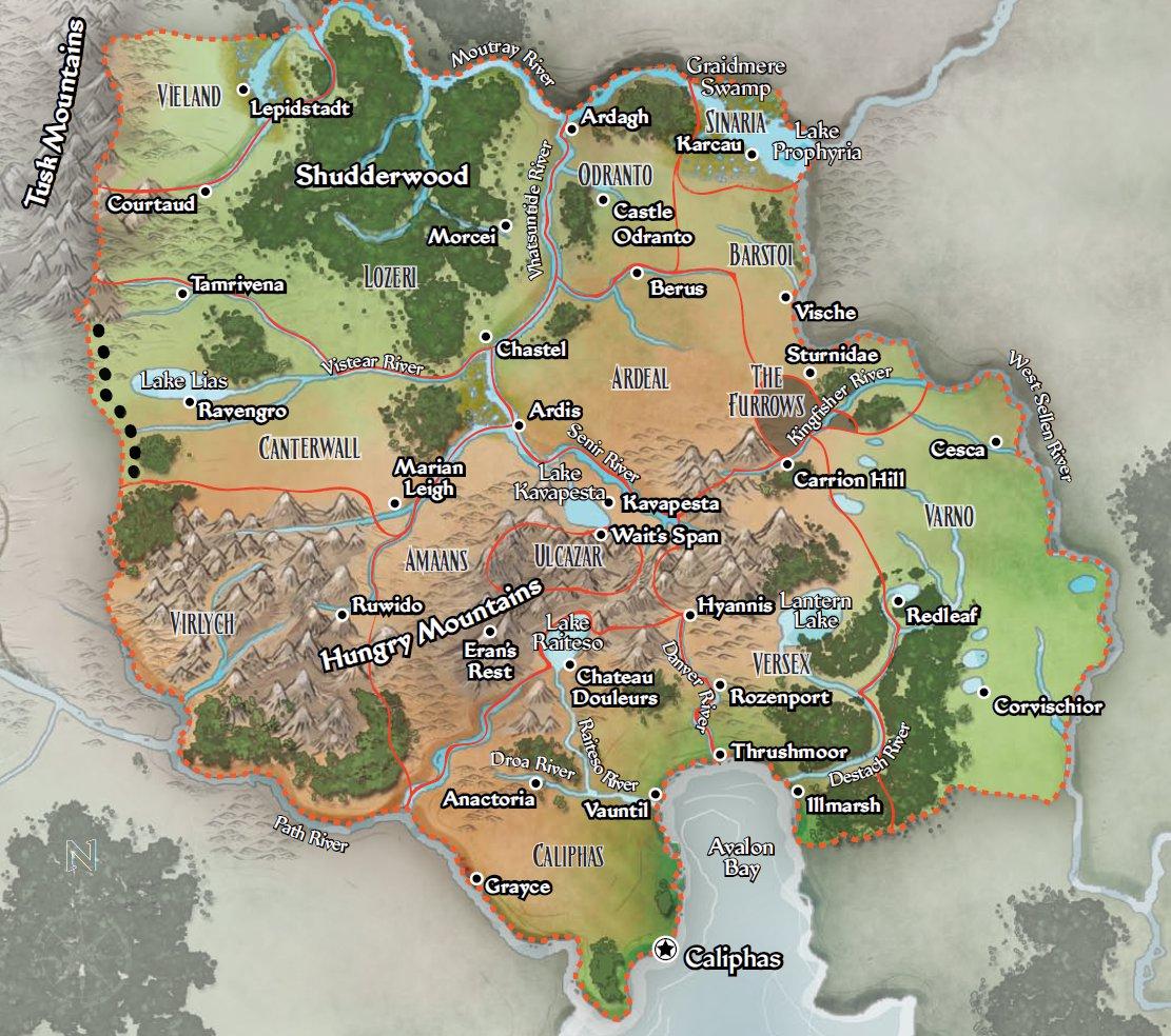Ustalav   player map