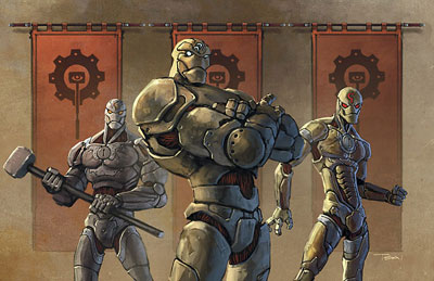 Iron watch adamants