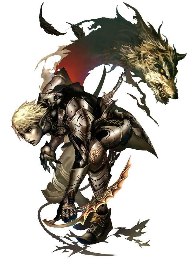Elf wolf spirit