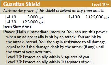 Guardian sheild