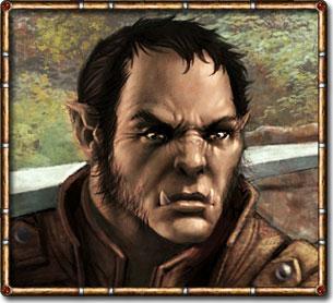 Half Orc Portrait Half Orcs
