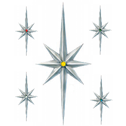 5 stars of mosada