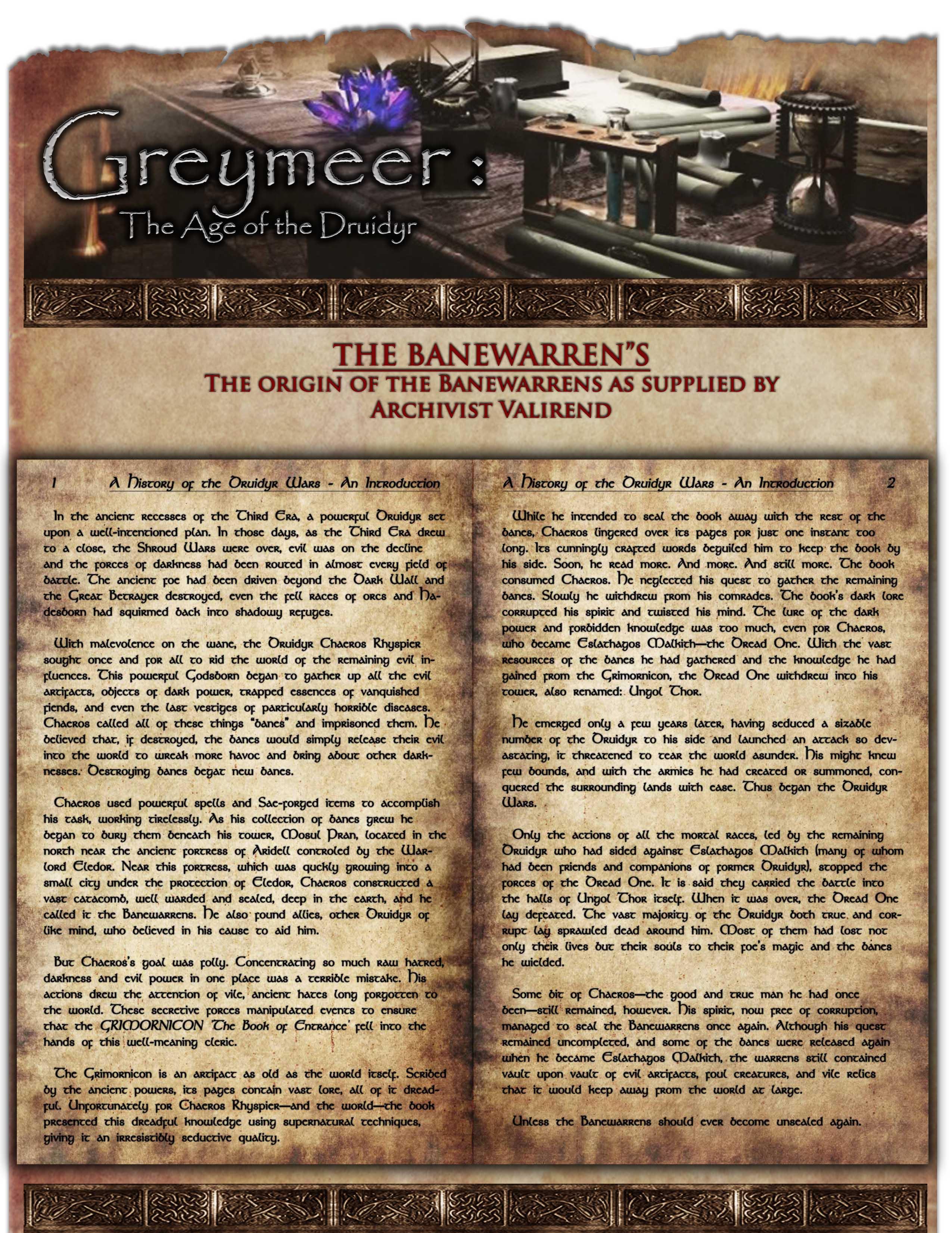 Op   the banewarens