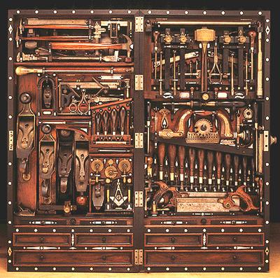 Masonic tool chest 1