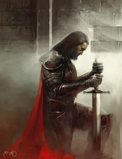 Prayer of the knighta