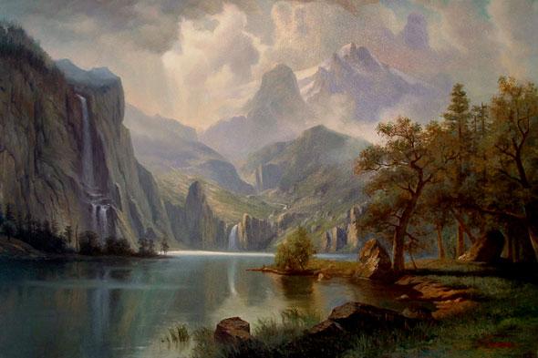 Dawnforge mountains
