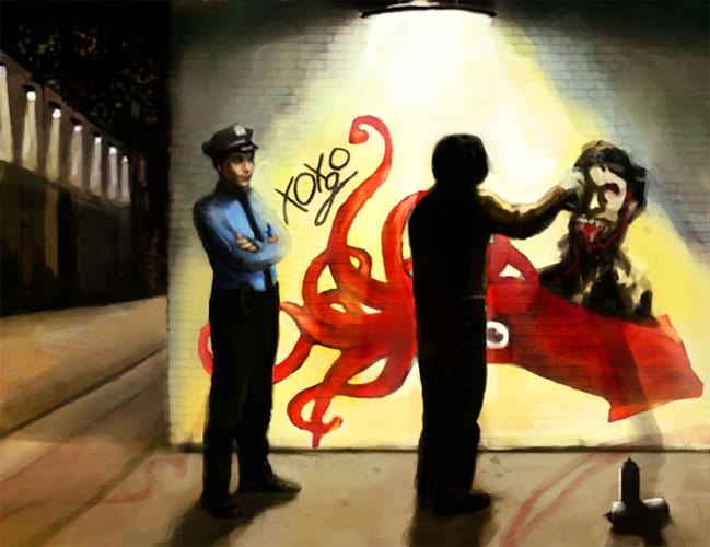 Graffiti by saramondo at deviantart