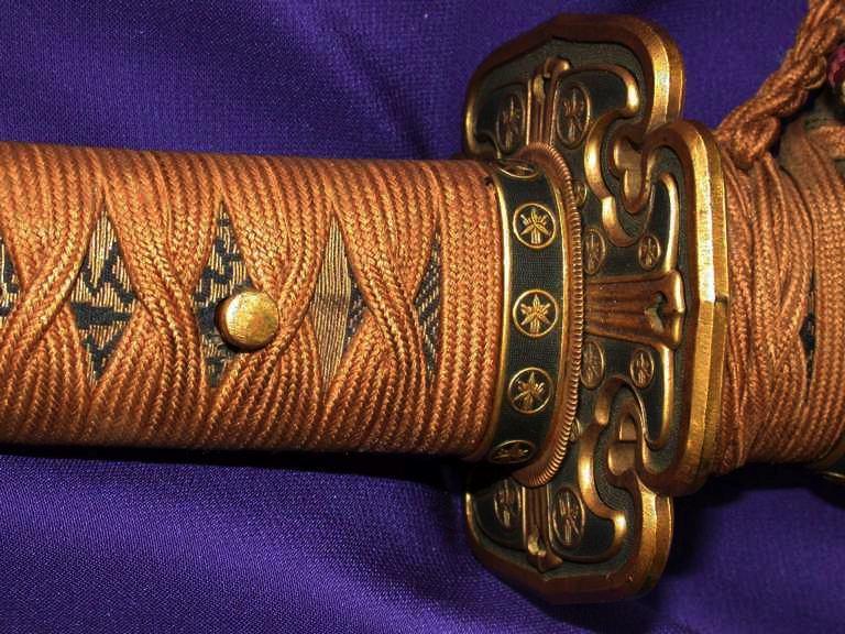Daimyo tachi samurai sword 39