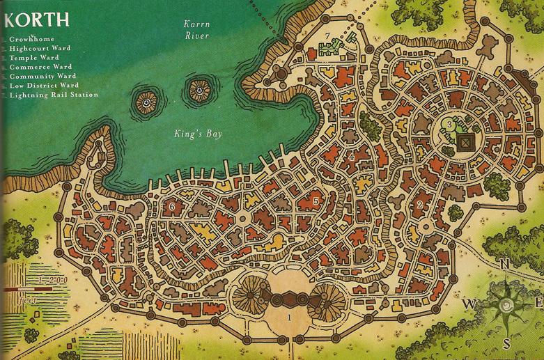 Korth map small
