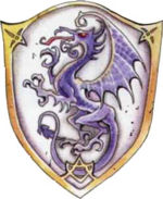 150px purple dragon shield