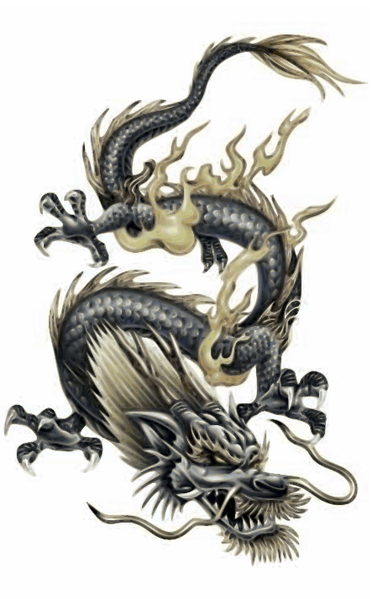 372px chinese dragon