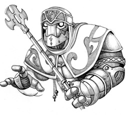 Warforged wizard