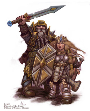 Dwarves small