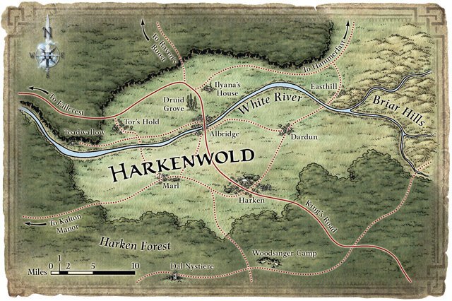 Harkenwold map new details