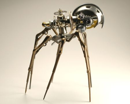 Steampunk spider 54